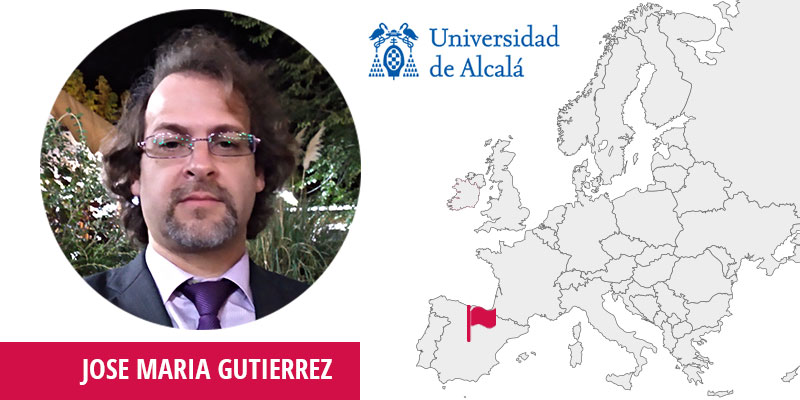 José Maria Gutierrez, Head of the Department in the Dept. of Computing Sciences at University of Alcalá (UAH)