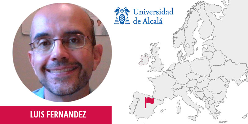 Luis Fernandez, Lead Researcher of the Dept. of Computer Sciences at University of Alcalá