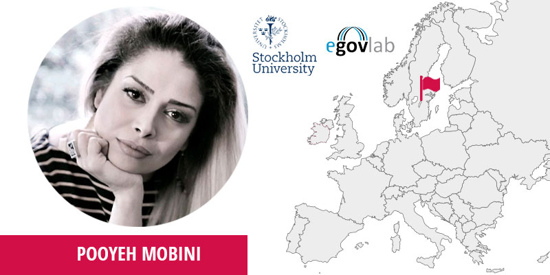 Pooyeh Mobini, Senior Project Leader at eGovLab, Stockholm University