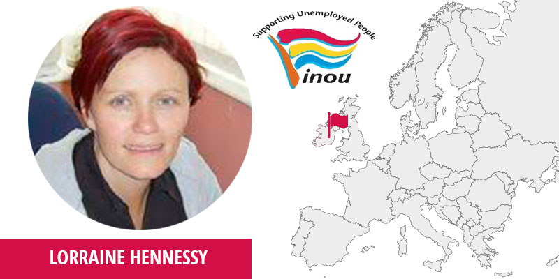 Lorraine Hennessy, The Irish National Organisation of the Unemployed, Training Manager