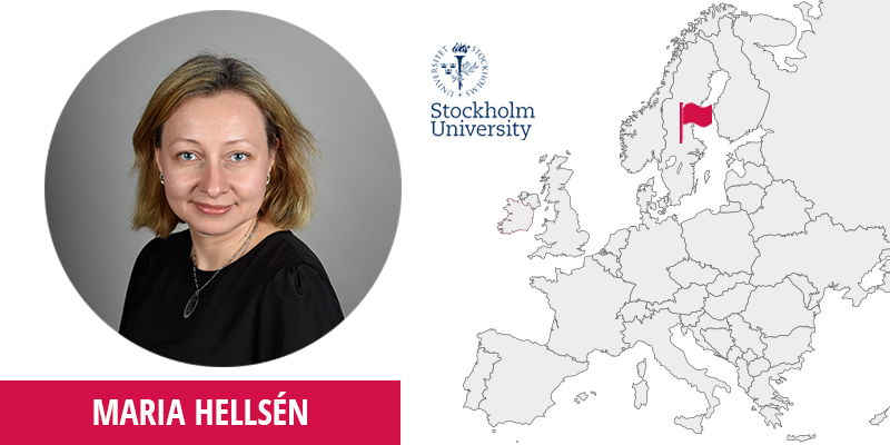 Maria Hellsen, Stockholm University, External Relations and Communications Office