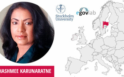 Thashmee Karunaratne, PhD, Project Manager, Senior Researcher at Department of Computer and Systems Sciences of eGovLab, Stockholm University